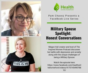 Depression, Misdiagnosis, Meds and Being a Milspouse with Megan Hall