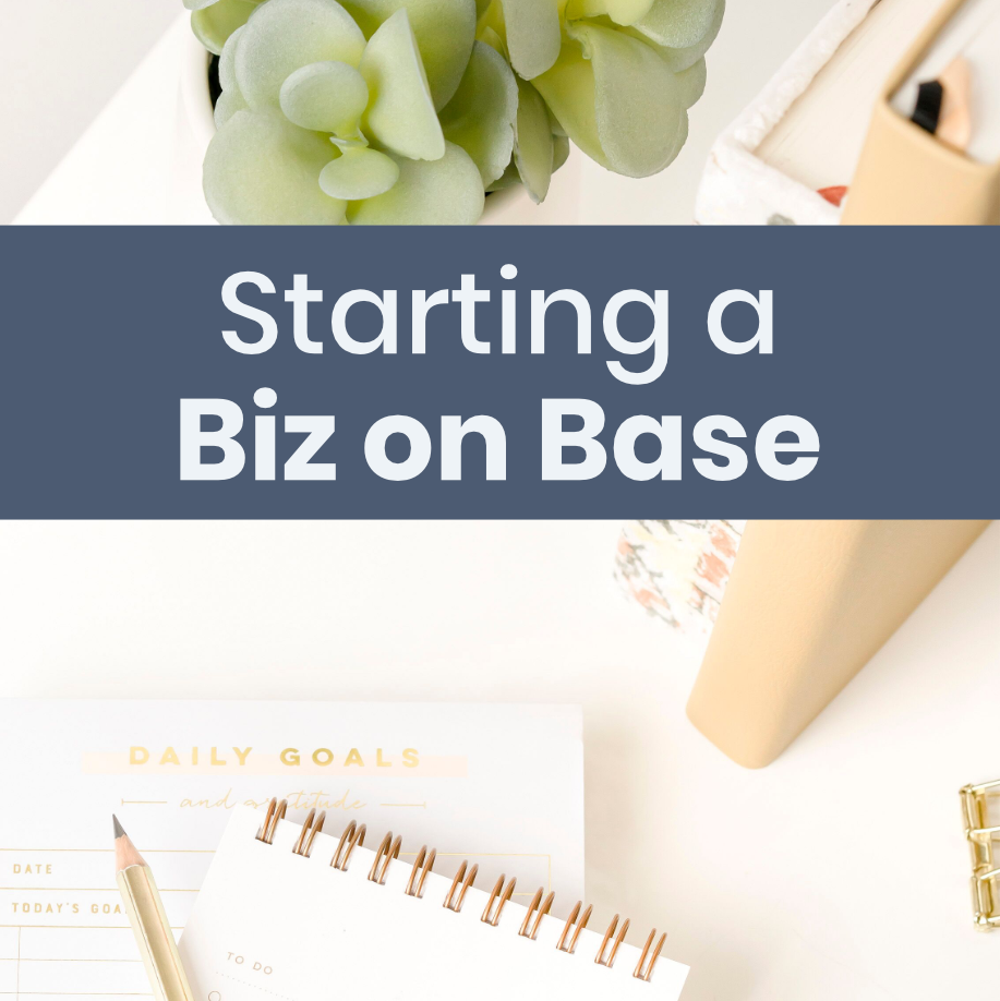 Starting a Biz on Base – Home Based Business Ideas For Military Spouses