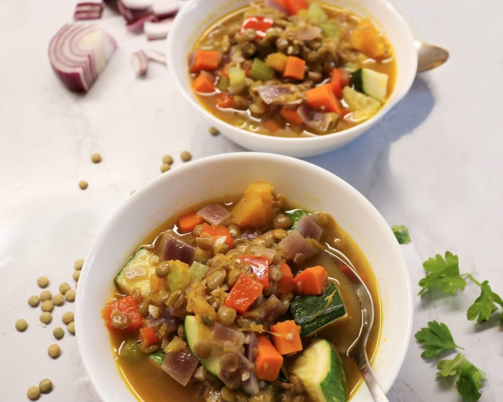 Curry Lentil Vegetable Soup
